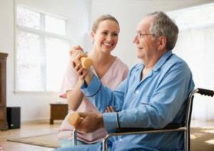 Дома престарелых для нуждающихся в медицинском уходе